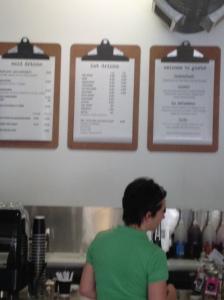 Gusto menus