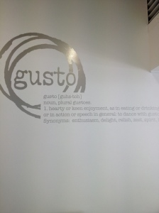 Gusto defined