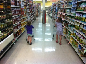 kids shopping