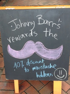 Could be a good incentive for Movember?