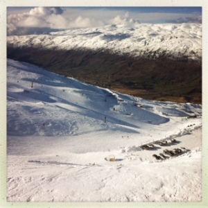 In case you're wondering about the snow cover in Cardrona