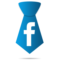 LinkedIn - Facebook with a neck tie