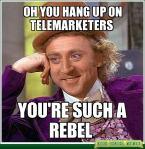 telemarketer rebel
