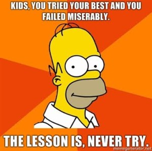 Homer simpson never-try