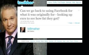 tweet by Bill Maher