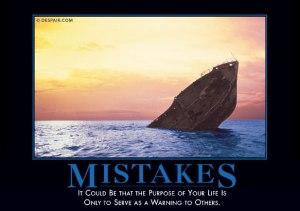 mistakesdemotivator