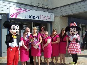 Thorne Travel shopfront