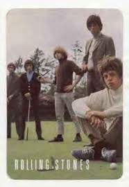 Stones playing golf