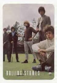 Stones playing golf