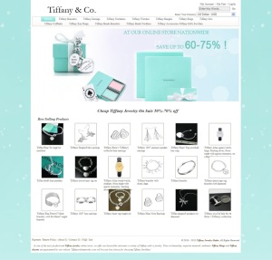 Cheap Tiffany Jewelry, Discount Tiffany Jewelry On Sale]