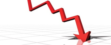 down-decline-graph
